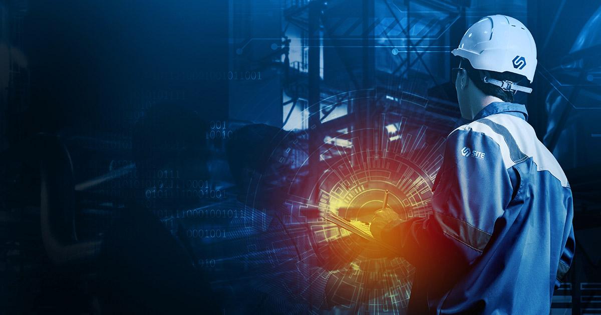 Arbeta på Site i gruv- och stålindustrin