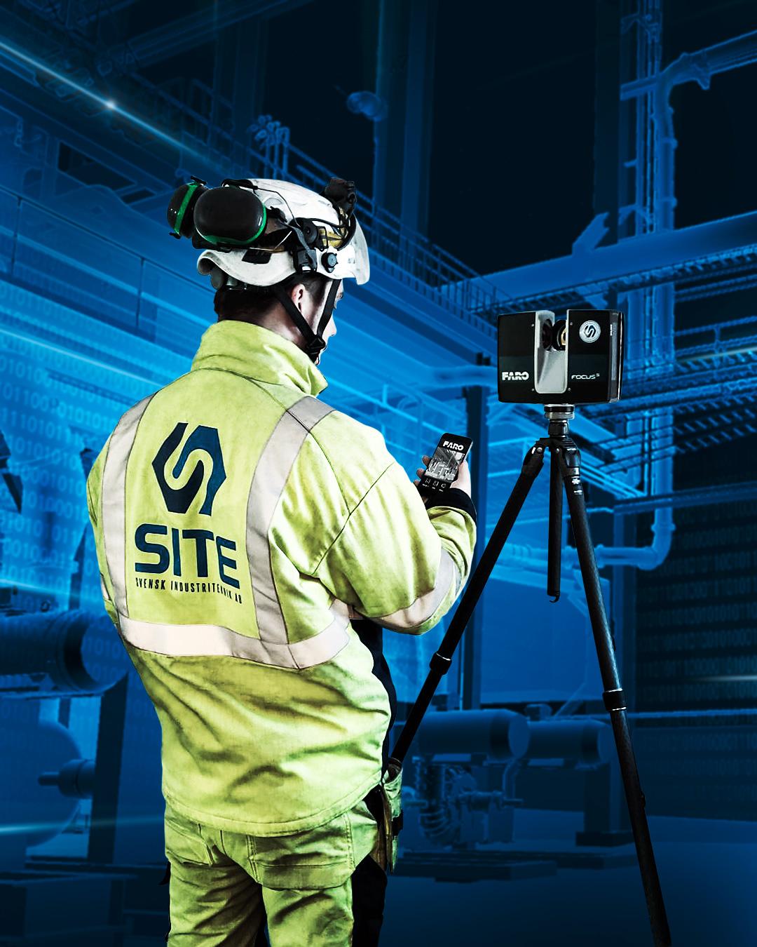 3D-scanning bild för SITE i Luleå