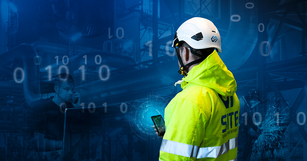 SITE management och projektledning för tung industri liggande bild