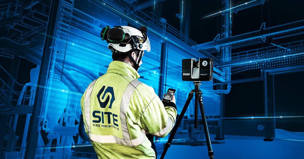 3D-scanning för effektiva projekt